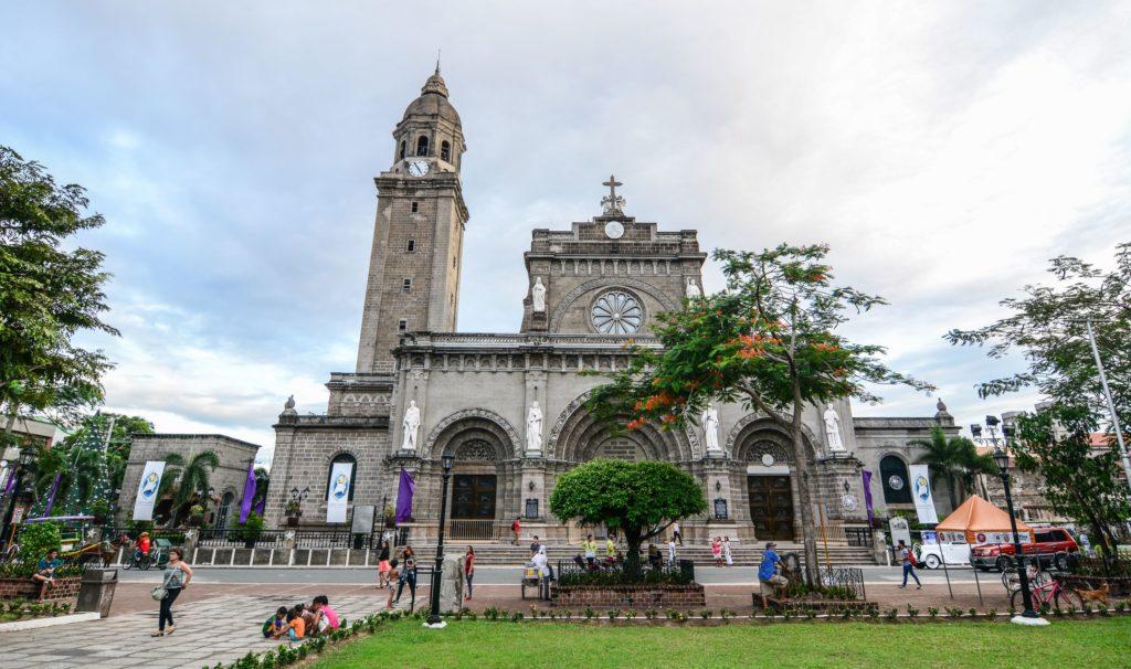 Кафедральный собор, Манила, Филиппины
