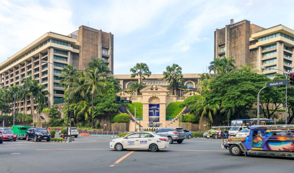 Гостиница Пенинсула Манила, Манила, Филиппины
