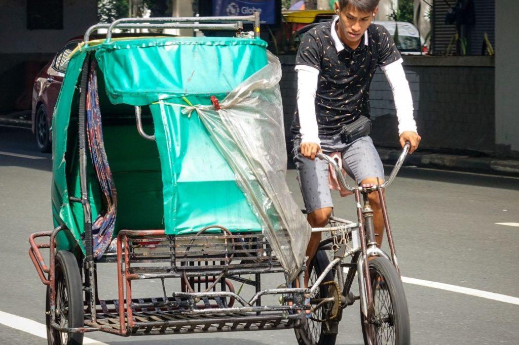 Вело-рикша, Манила, Филиппины