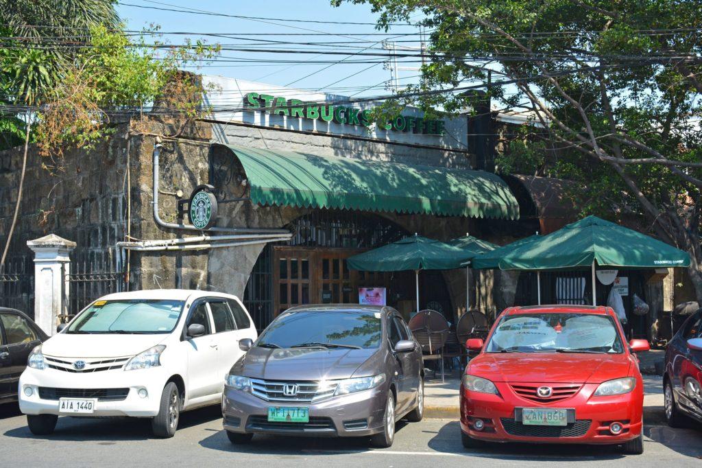 Старбакс в Интрамурос, Манила, Филиппины