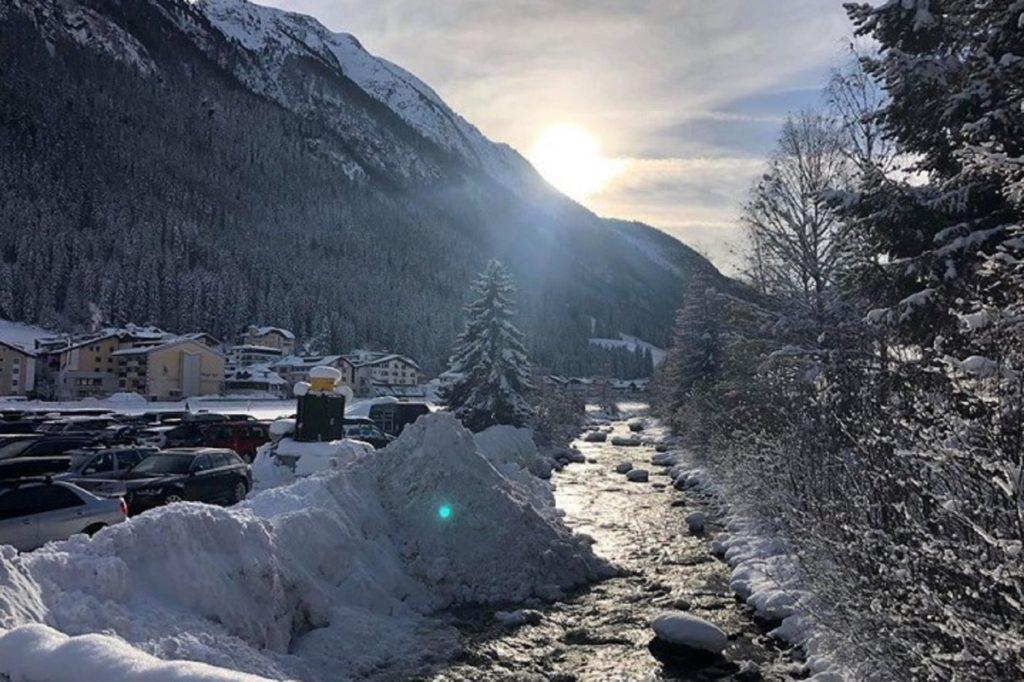 путешествие на автомобиле - Ишгль, Австрия