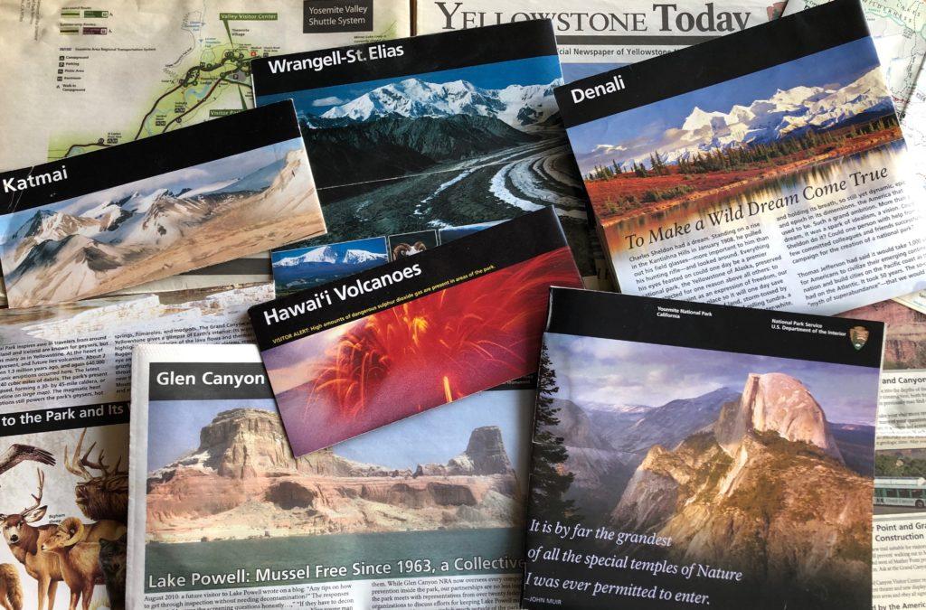 Национальные парки США: карты