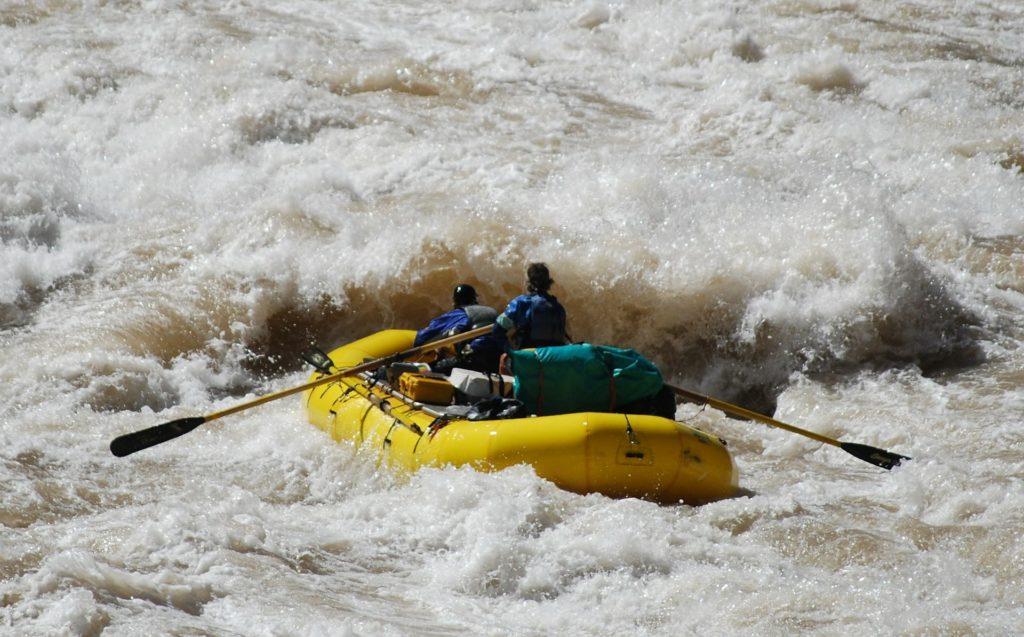 Национальный парк Гранд Каньон. Сплав по реке Колорадо